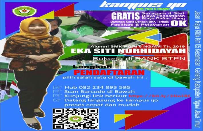 Bursa Kerja Khusus SMK PGRI 6 Ngawi
